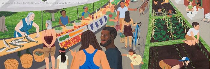 Baltimore's urban food system.