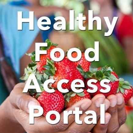 Healthy Food Access Portal
