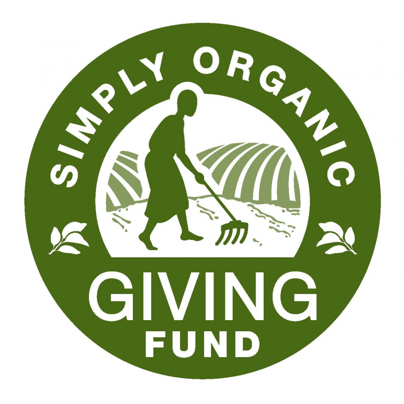 Simply Organic Giving Fund Grant