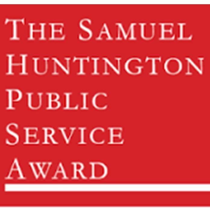 Samuel Huntington Public Service Award